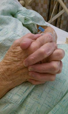 This looks so much like my Mama's hands...She prayed for all of us.