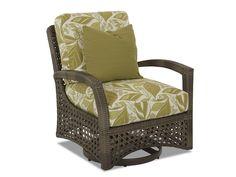Klaussner Outdoor Outdoor/Patio Amure Swivel Glider Chair