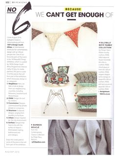 @visimag Thank you so much! We can't get enough of our Bamboo Boucle either! 😊 #philippikus #contemporaryclassics #bamboo #sustainable #fabric #designwithaconscience #madeinsouthafrica