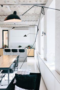 Daily Dream Decor: Industrial minimal kitchen