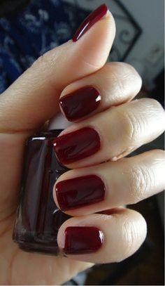 Ox-blood gorgeous nail paint fashion