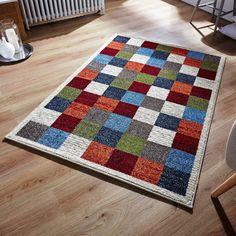 Zante Multi-Coloured Rugs 113W