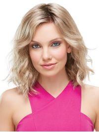 "Perruques Moyennes 12"" Merveilleuse Blonde"