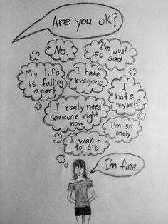 414 best sad drawings images in 2019 Depression Art, Depression Quotes, Depression Awareness, Broken Heart Drawings, Heart Broken, Sad Quotes, Life Quotes, Sad Drawings, Dibujos Cute