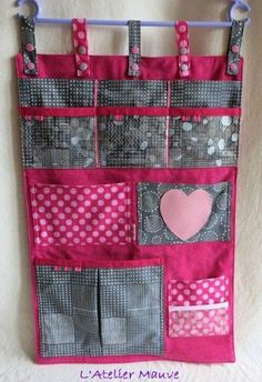 Baby crafts sewing inspiration 68 Ideas for 2019 Diy Sewing Projects, Sewing Hacks, Sewing Crafts, Baby Crafts, Diy And Crafts, Wand Organizer, Denim Crafts, Diy Couture, Hanging Storage