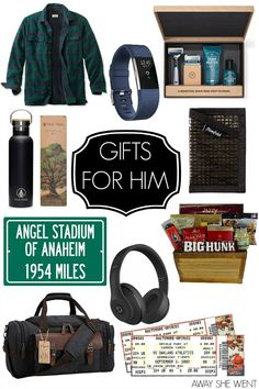 Gift Guide: Gifts for Him - Christmas present ideas for men