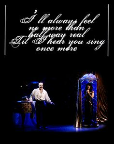 Love Never Dies...was just singing this when I saw this edit!