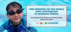 SG Swimming Classes.com provide you Singapore swimming club membership on sale peoples who are interested  for membership for this summer get hurry and contact us.