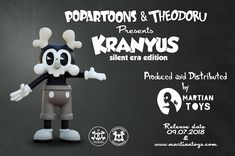 have the pleasure to announce that the second Kranyus colorway will be released next Friday toughen with the first Artist Edition Kranyus by For more informations and prices checkout the Vinyl Toys, The Martian, Behance, Mars
