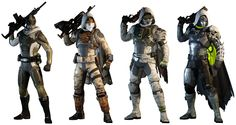 A list of all guardian armor in Destiny the game. Destiny Hunter, Destiny Game, Sci Fi Fantasy, Fantasy World, Destiny Wallpaper Hd, Destiny Fashion, Character Concept, Character Design, Queer Fashion