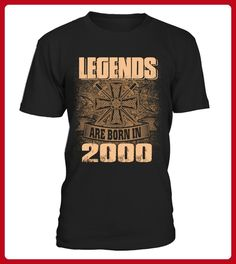 Legends are born in 2000 - Volleyball shirts (*Partner-Link)