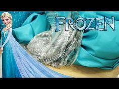 VESTIDO ELSA- FROZEN: Escolhendo Tecidos Para o Vestido- [ Dress Elsa Frozen] VEDA 27 - YouTube