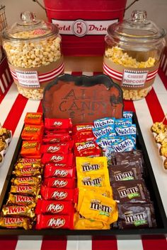 Vintage Movie Themed Birthday Party via Kara's Party Ideas KarasPartyIdeas.com