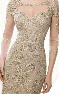 Elegant Dresses, Nice Dresses, Vintage Dresses, Formal Dresses, Mom Dress, Lace Dress, Mother Of Groom Outfits, Sexy Night Dress, Lace Evening Gowns
