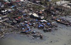 Na afloop van de Tyfoon Haiyan vertellen de foto's het verhaal.. Help de slachtoffers van orkaan Haiyan: geef-nu.giro555.nl #haiyan