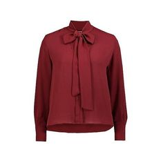Mango blouse ❤ liked on Polyvore featuring tops, blouses, red ruched top, red top, ruched blouse, ruched tops and shirred top
