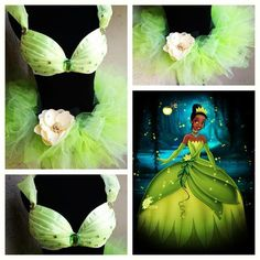 Electric Laundry, Princess Tiana inspired lingerie