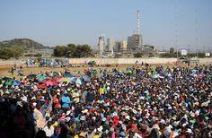 Preaviso de huelga ilimitada en una mina de níquel en Sudáfrica