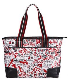 Look what I found on #zulily! Sydney Love Paint the Town Red Large Tote by Sydney Love #zulilyfinds