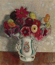 Leon de Smet I Vase of Flowers