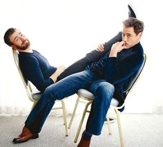 RDJ and Chris....OVERLOAD!!!!