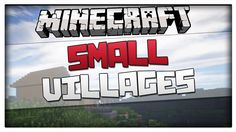 Minecraft 1.8.1 - Top 3 Small Village Seeds! NPC Village seed for 1.8 an...