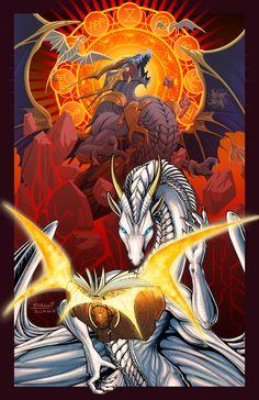 ArtStation - Summon, Alan Yggdrasil Summoning, Dragons, Spiderman, Gothic, Fishing, Superhero, Tattoos, Artwork, Anime