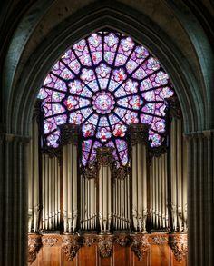 Orgue Cathédrale Notre-Dame de Paris © Patrick Kovarik / AFP