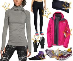 Winter running apparel - It's time to prepare for winter! Here are our recommendations for what to wear when you're running this winter.
