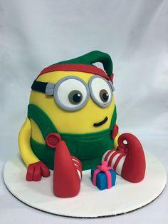 Elf Minion Cake