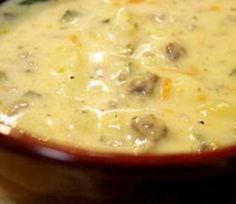 Weight Watchers Recipes - Crock Pot Cheeseburger Soup