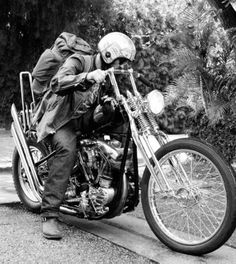 Retro Style Springer Motorcycle  **VIEW More Retro Motorcycle Pics at http://blog.lightningcustoms.com/60s-and-70s-motorcycle-pictures/  #retromotorcyclepics #classicmotorcycles #motorcyclepics #retromotorcycle