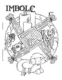 LUV 2 LRN | Imbolc Maze | Please Like √ Share√ Comment √ Tag √ and Pin it √
