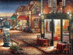John Patrick O'Brien (USA, 1951-2004) - Starry Night