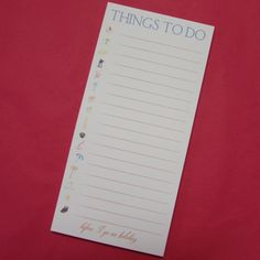 I'm selling Things To Do Notepad - A$5.00 #onselz