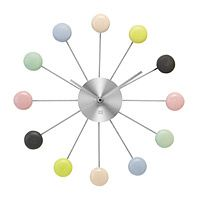 MACARON WALL CLOCK|UncommonGoods: Better on the wall than on my hips