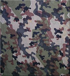 Камуфлаж от ГФР / federal republic of germany Bundeswehr-Zelt-Tarnmuster (autumn–winter) Textures Patterns, Print Patterns, Army Times, Branch Of Service, Camouflage Patterns, Military Camouflage, Rain Gear, Custom Action Figures, Pattern Images