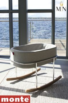 The Rockwell Bassinet by Monte Design is synonymous with ultimate modern luxury; it is the perfect combination of beautiful materials and a soothing rock for your little one! Boat Building Plans, Boat Plans, Folding Boat, Baby Bassinet, Modern Luxury, Boat Dock, Beautiful Babies, South Florida, Interior Decorating