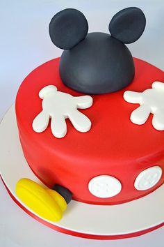 El pastel del ratón Mickey