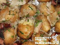 Картофель, запеченный с салом в фольге, headline blyuda na uglyax