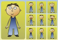Feelings and Emotions Worksheet to help children identify feelings/emotions.