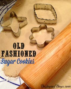 Old Fashioned Sugar Cookies - The best sugar cookies you will ever have.