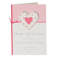 Chloe Order of Service -  Dreams to Reality Design Ltd