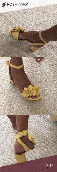 b4b7f38f043 Made in Brazil Womens shoes Filumena Made in Brazil Women s yellow shoe  size size 37 Only worm once 2 inch heel.