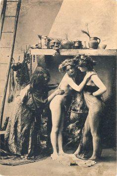 Antique Art Wiccan Erotica