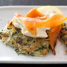 Taste Mag | Potato rosti with cream cheese and salmon @ https://taste.co.za/recipes/potato-rosti-with-cream-cheese-and-salmon/