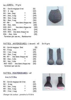 Crochet animals 439945457349404043 - Fiche amigurumi : Le Chien – Elylou crochette Source by isadefig Baby Booties Knitting Pattern, Crochet Doll Pattern, Crochet Motif, Crochet Dolls, Free Crochet, Knit Crochet, Crochet Patterns, Crochet Clothes, Amigurumi Doll
