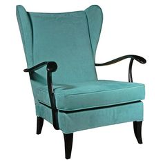 Single Wing Chair attributed to Paulo Buffa