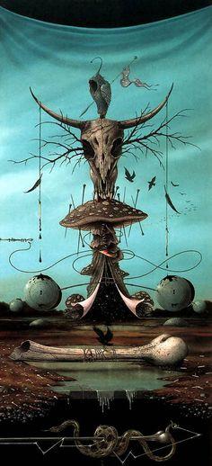 Surrealism of Hans Kanters