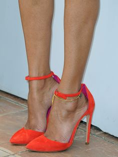 Actress Zoe Saldana (shoe detail) attends the photocall for 'Blood Ties' at The 66th Annual Cannes Film Festival on May 20, 2013 in Cannes, France.